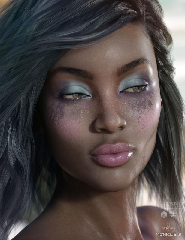 shop aprilsvanity com - Flo Makeup For Genesis 8 Females